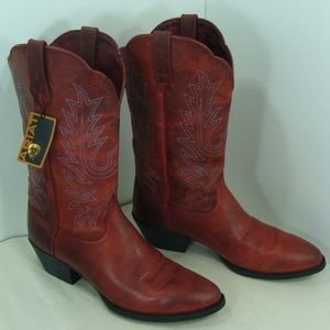 New Ariat Womens Leather Western Cowboy Boots 9.5